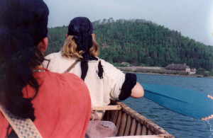 Canoeing to Grand Portage