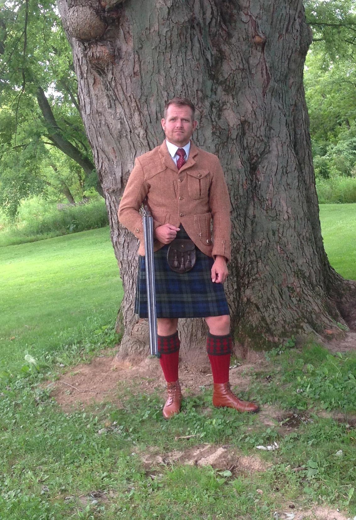 Tailoring Challenge… Highland wear.