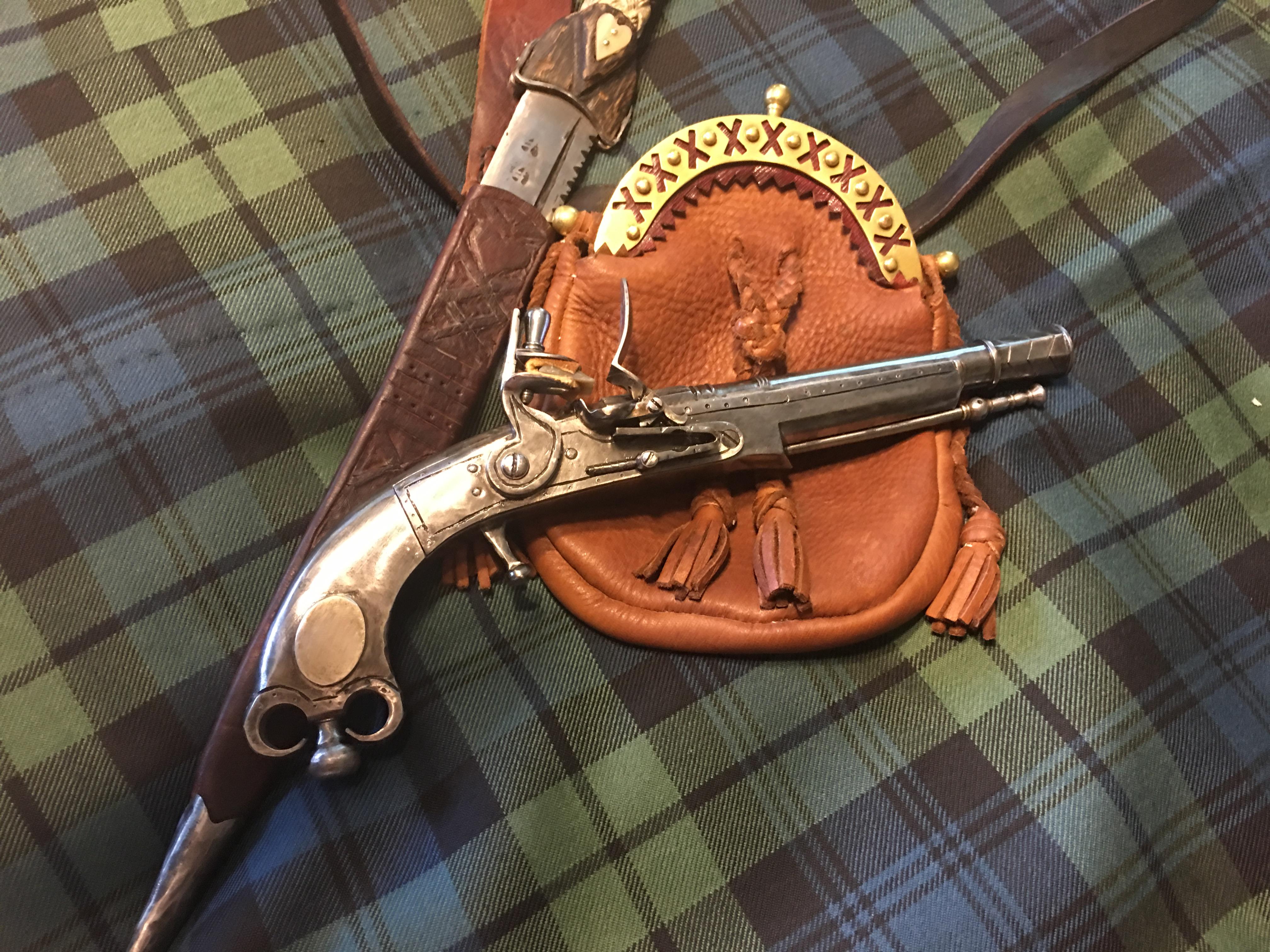 A Highland Pistol